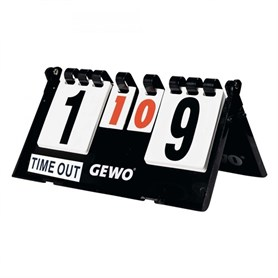 GEWO SCOREBOARD COMPACT TİME OUT